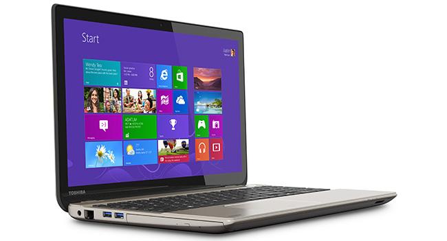 Toshiba анонсировала ноутбук Satellite P55t с 4K разрешением дисплея