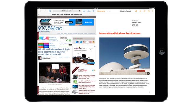 В iOS 8 появится поддержка многозадачности для iPad