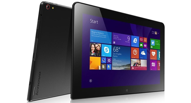 Lenovo анонсировала планшет ThinkPad 10 с Windows 8 Pro