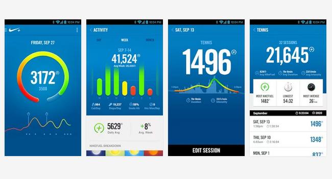 Nike выпустила приложение Nike+ FuelBand для платформы Android