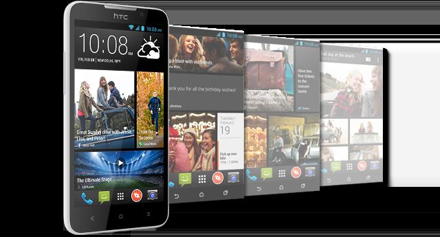 HTC представила в Украине смартфоны Desire 516 и Desire 616 с поддержкой двух SIM-карт