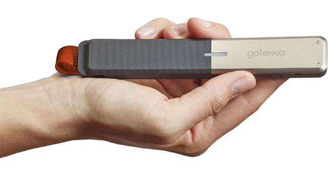 Устройство goTenna позволит общаться даже без наличия мобильной связи и интернета