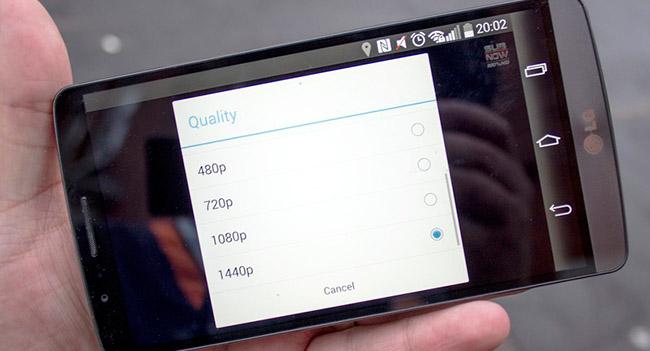 Приложение YouTube для Android получило поддержку разрешения 1440p