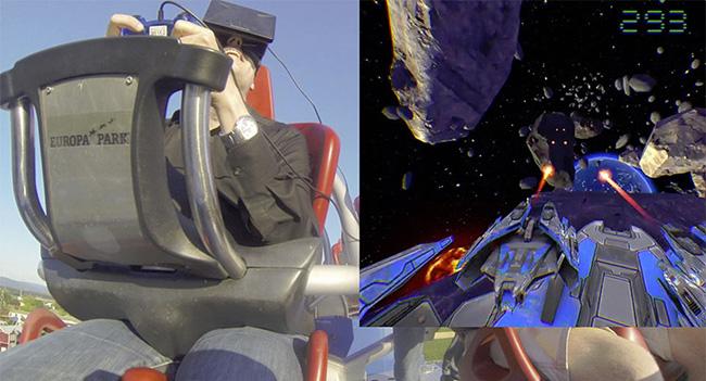 Исследователи объединили шлем Oculus Rift и аттракцион «Американские горки»