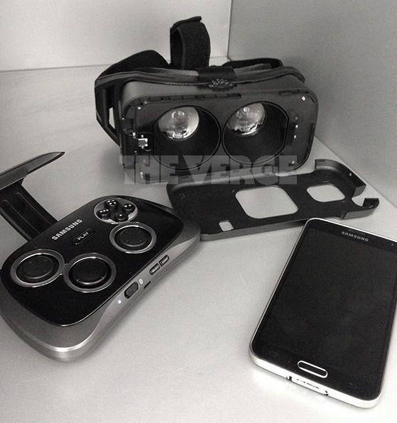 Опубликована фотография шлема виртуальной реальности Samsung Gear VR