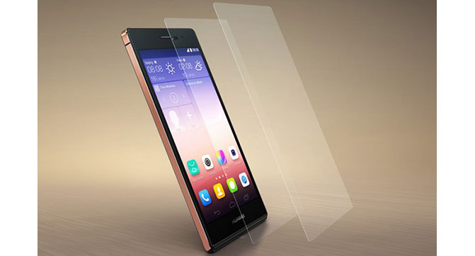 Huawei P7 Sapphire Edition - модификация смартфона Huawei P7 с сапфировым стеклом