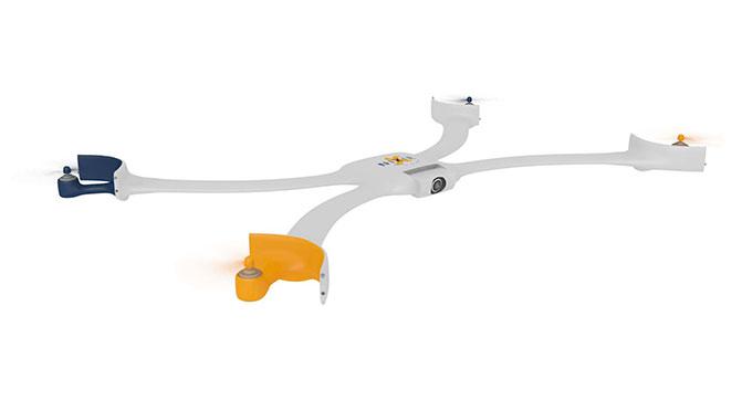 Nixie - носимый на руке дрон для создания селфи