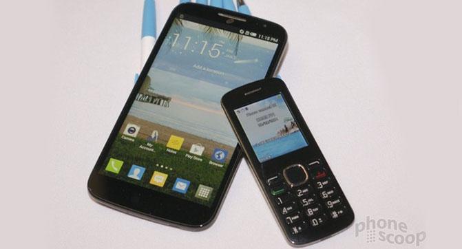 Alcatel создала комплект, включающий фаблет и компактный телефон-компаньон