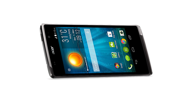 Acer представила в Украине смартфон Liquid Z500 с поддержкой двух SIM-карт