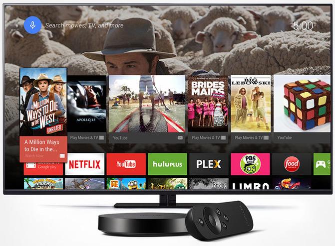 Nexus Player - первый мультимедийный проигрыватель на базе Android TV