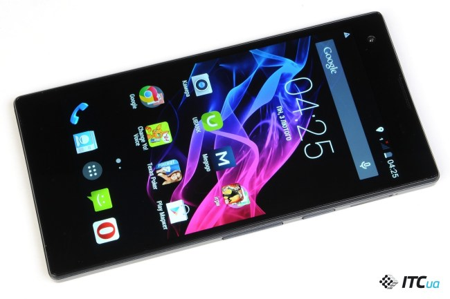 Обзор Android-смартфона Fly IQ4511 OCTA Tornado One с