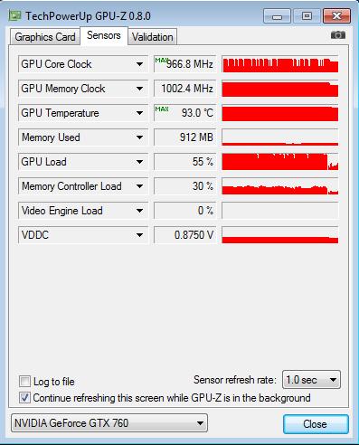 GIGABYTE_BRIX_GTX760_GPU-Z_nagrev