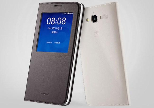 Huawei создала смартфон Ascend GX1 с 6-дюймовым HD дисплеем