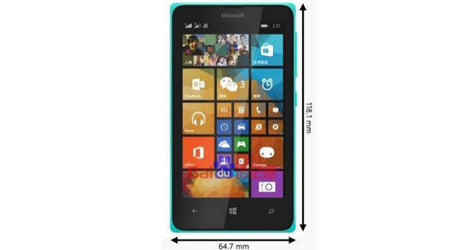 Microsoft подготовила к выпуску смартфон Lumia 435