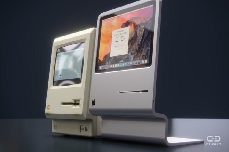 За основу концепта взят 11,6-дюймовый ноутбук MacBook Air, дисплей которого можно использовать в корпусе таких размеров