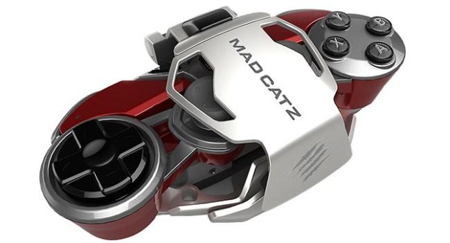 Mad Catz представила гибко настраиваемый игровой контроллер L.Y.N.X. 9