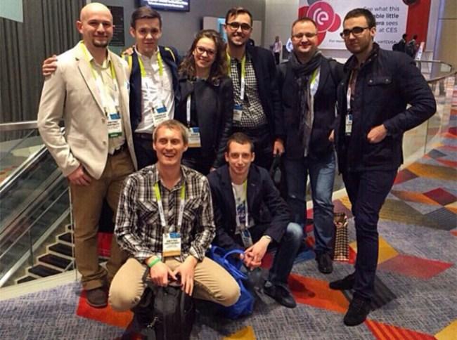 Украинские стартапы показали на CES 2015 свои проекты