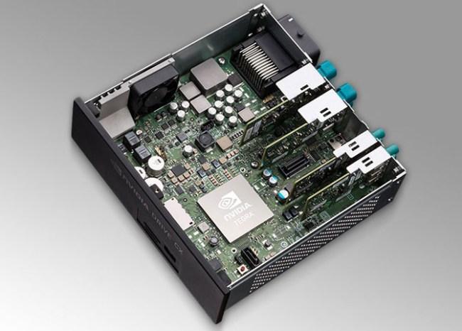 NVIDIA анонсировала автомобильные компьютерные системы DRIVE PX и DRIVE CX