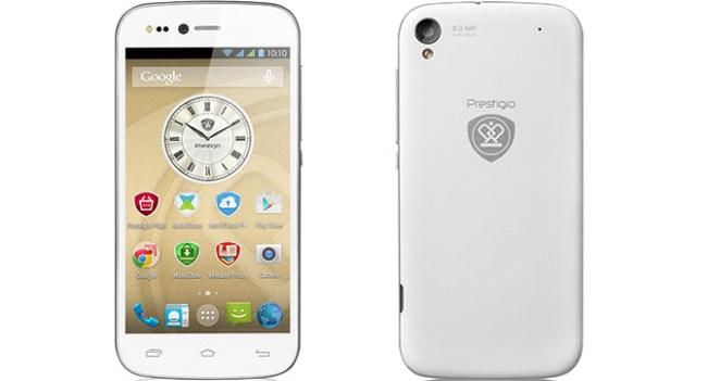 Prestigio представила смартфон Grace X3 с улучшенной камерой