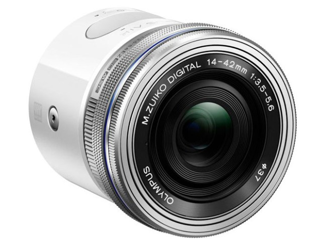 Olympus разработала накладную камеру для смартфонов - Air