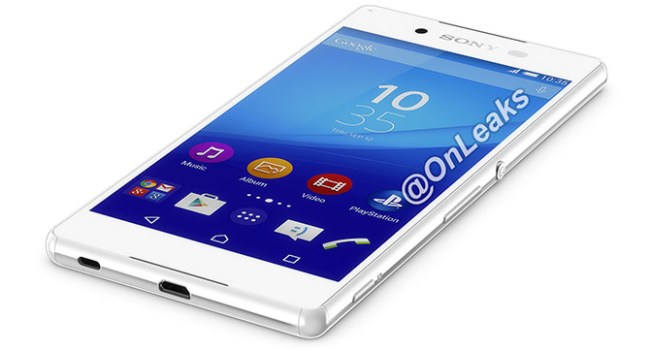 Появились изображения и примерные характеристики смартфона Sony Xperia Z4