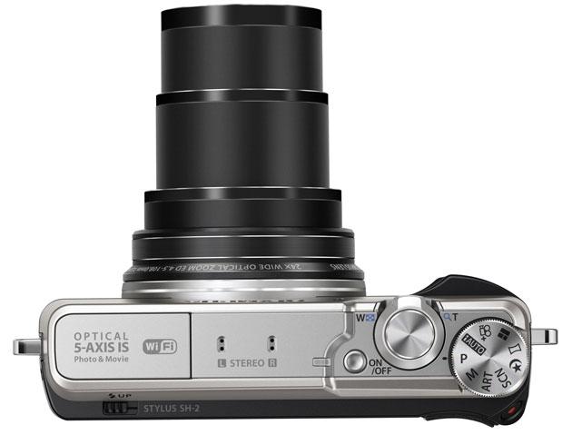 Olympus анонсировала камеру Stylus SH-2 с 24-кратным зумом и 5-осевой системой стабилизации изображения