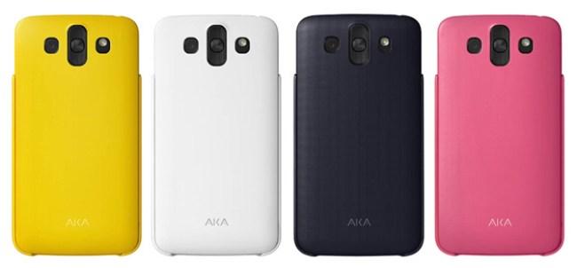 Персонализируемый смартфон LG AKA поступит в продажу за пределами Кореи