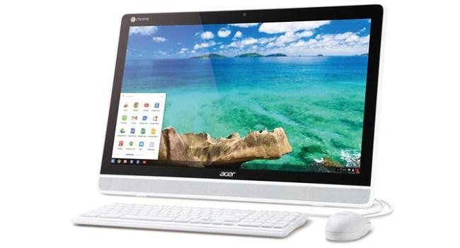 Acer подготовила к выпуску моноблочный компьютер с Chrome OS