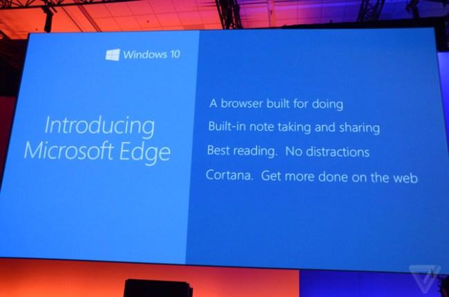 Браузер Project Spartan получил официальное название Microsoft Edge