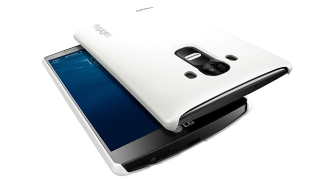 Производитель чехлов Spigen опубликовал изображение смартфона LG G4 до официального релиза