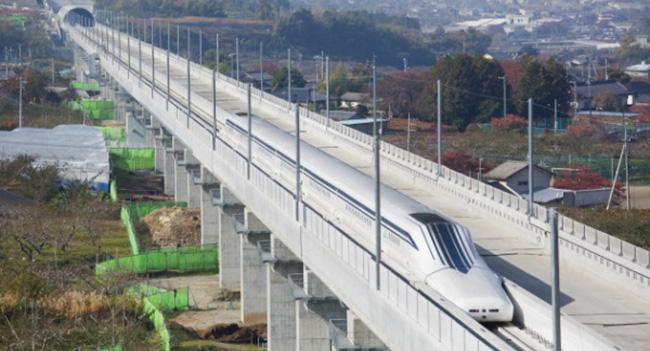 Установлен рекорд скорости движения маглев поезда - 590 км/ч