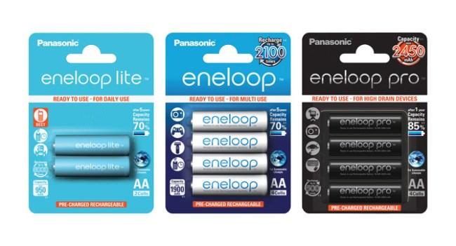 Panasonic представила в Украине высокоэффективные аккумуляторы Eneloop