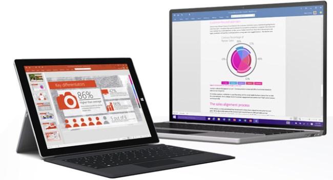 Стала доступна версия Office 2016 Public Preview