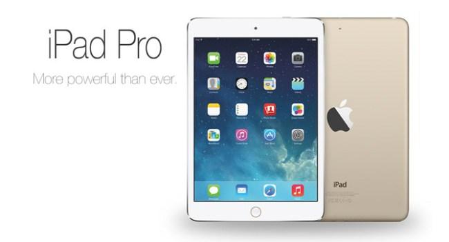 Крупный планшет Apple iPad Pro получит стилус, порт USB-C и чип NFC