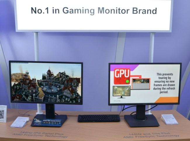 MG Series Ultra-fast Gaming Monitors - MG279Q & MG278Q