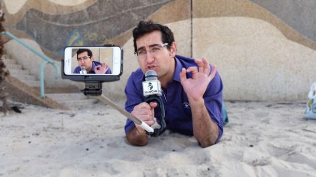 Solocam - селфи-стик, позволяющий почувствовать себя журналистом
