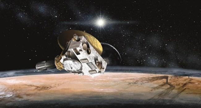 14 июля зонд New Horizons приблизится к Плутону на минимальное расстояние