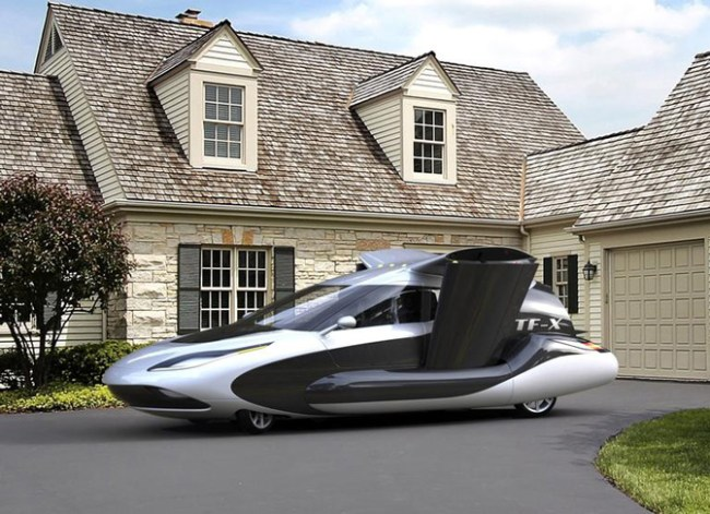 Terrafugia показала новый дизайн летающего автомобиля TF-X