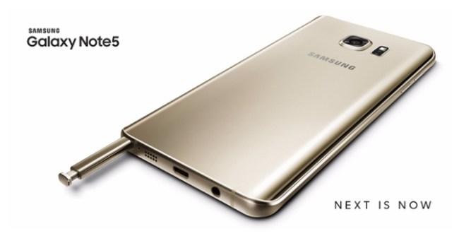 Состоялась официальная презентация смартфона Samsung Galaxy Note 5