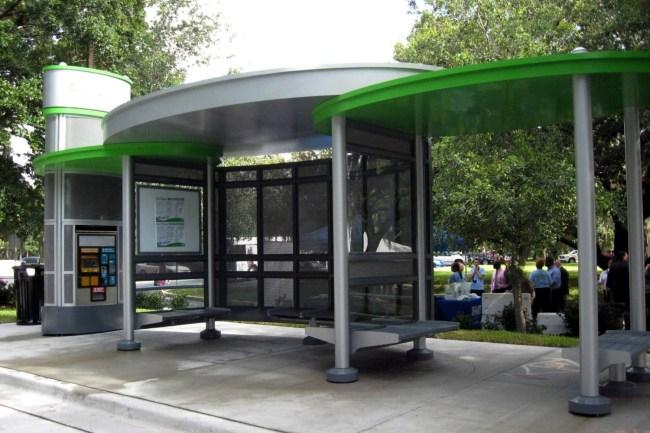 Bus Stop Kyiv