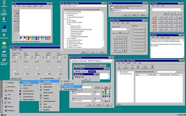 Windows95applications