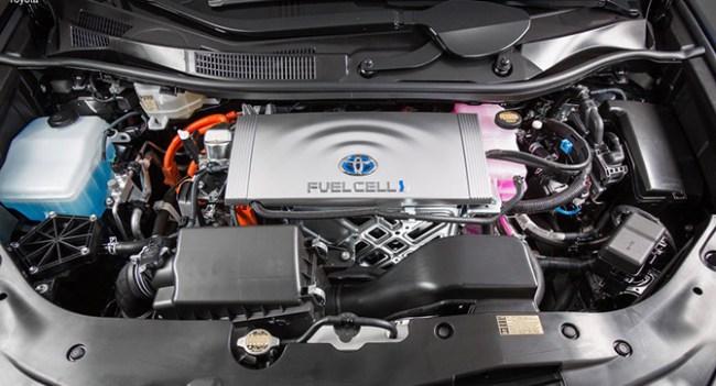 Некоторые модели Toyota и Lexus оснастят водородными двигателями