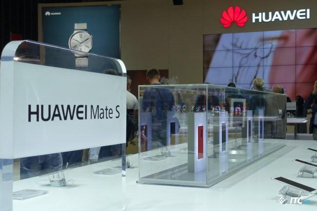 Первый взгляд на новинки Huawei: MateS и G8, умные часы Watch [IFA 2015]