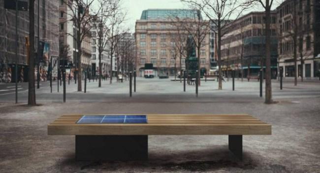 Kyiv solar bench2