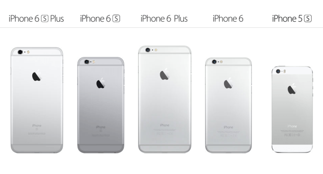 iPhone family 2015