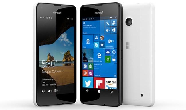 Microsoft Lumia 550 - бюджетный смартфон с Windows 10
