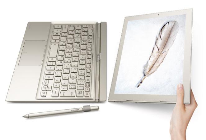 Toshiba анонсировала тонкое и лёгкое гибридное устройство DynaPad