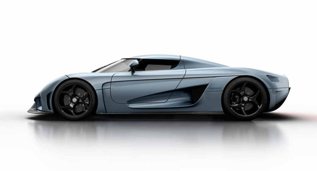 Функция Autoskin суперкара Koenigsegg Regera делает его частично похожим на Трансформера