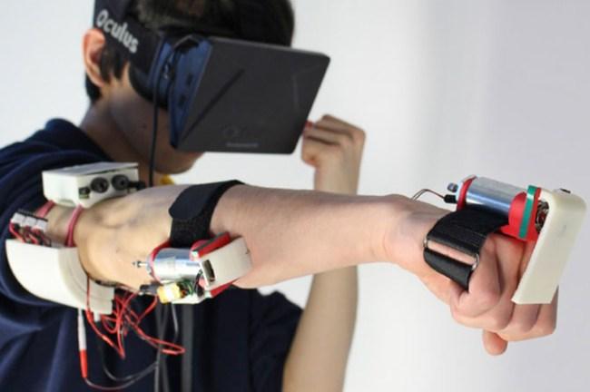 Impacto позволяет реализовать физическую отдачу при столкновении с объектами виртуальной реальности