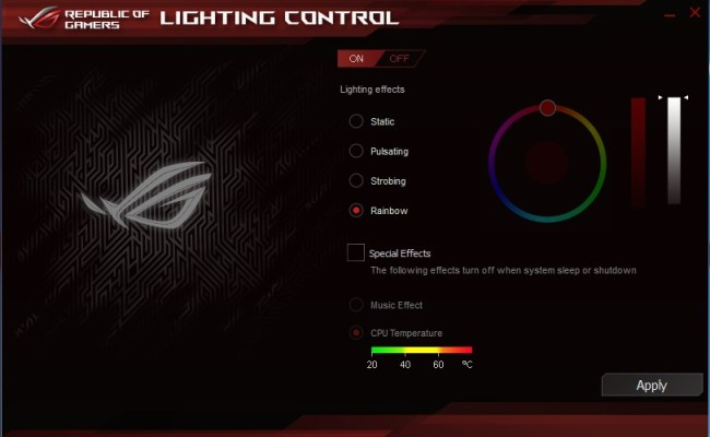 ASUS_Maximus_VIII_Extreme_CPU-Z_Lighting_Control